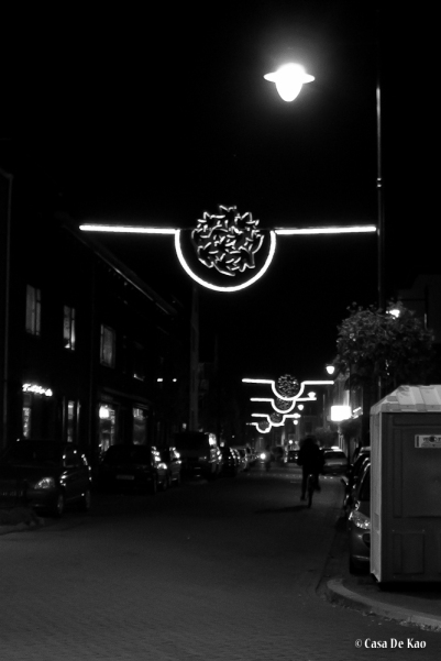Klarendal by night