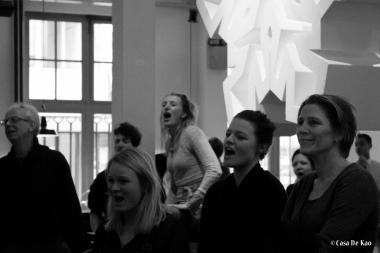 Muziek bij de buren - Opening - Flashmob