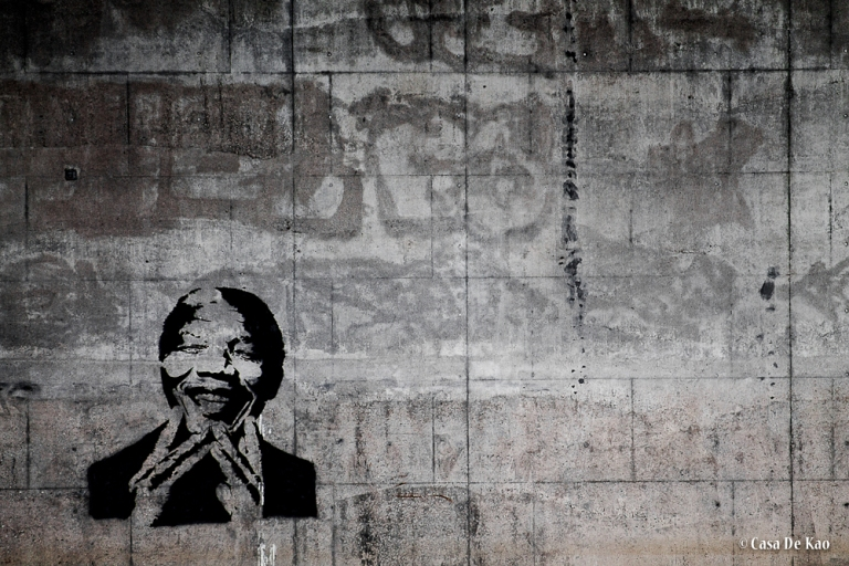 Mandela streetart